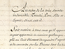Texte de l'accord. Paris, 10 février 1763 [Traité de Paris]