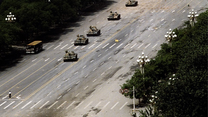 The occupation of Tiananmen Square